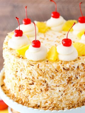 full image of Pina Colada Layer Cake