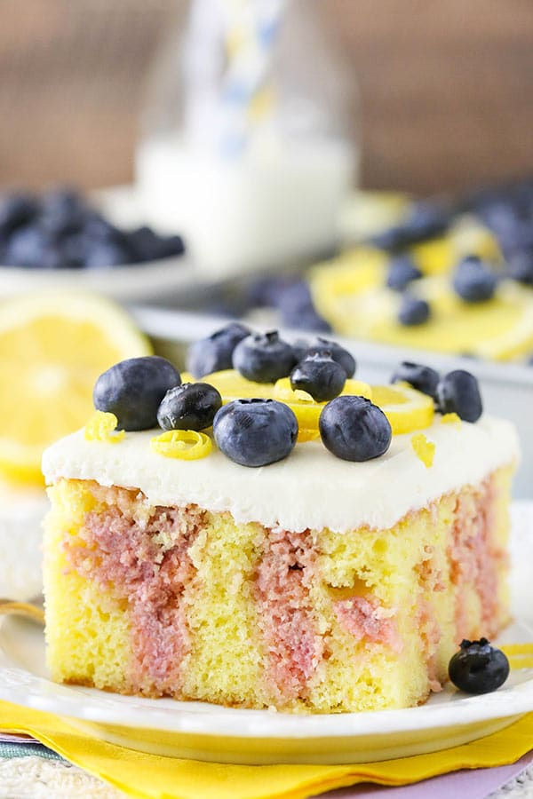 Best Lemon Blueberry Cake
