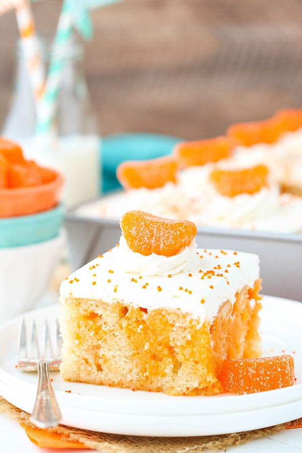 Easy Orange Creamsicle Poke
