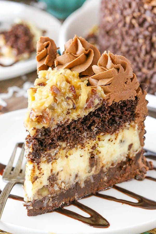 Chocolate Coconut Cheesecake Recipe