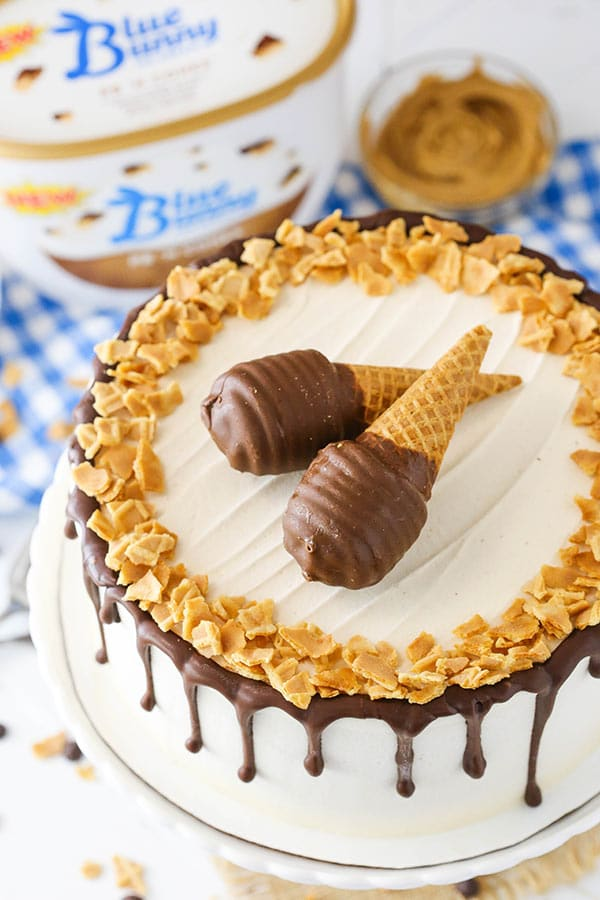 Ice Cream Cone Cake recipe