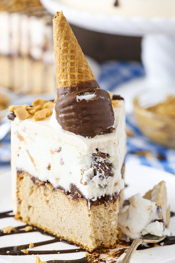 Favorite Ice Cream Cone Cake