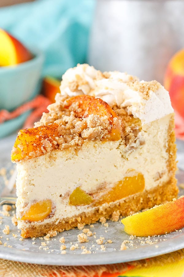 How To Make Peach Cheesecake