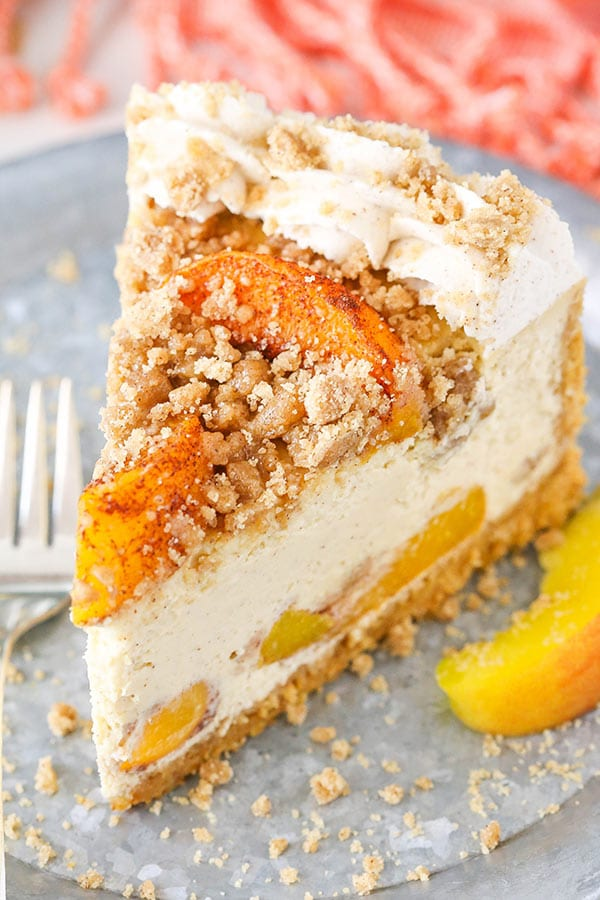 Homemade Peach Cheesecake Recipe