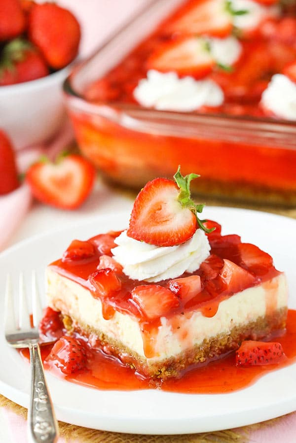 Strawberry Cheesecake Recipe Best Easy Strawberry Cheesecake