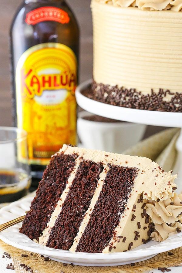 Best Kahlua Coffee Chocolate Layer Cake