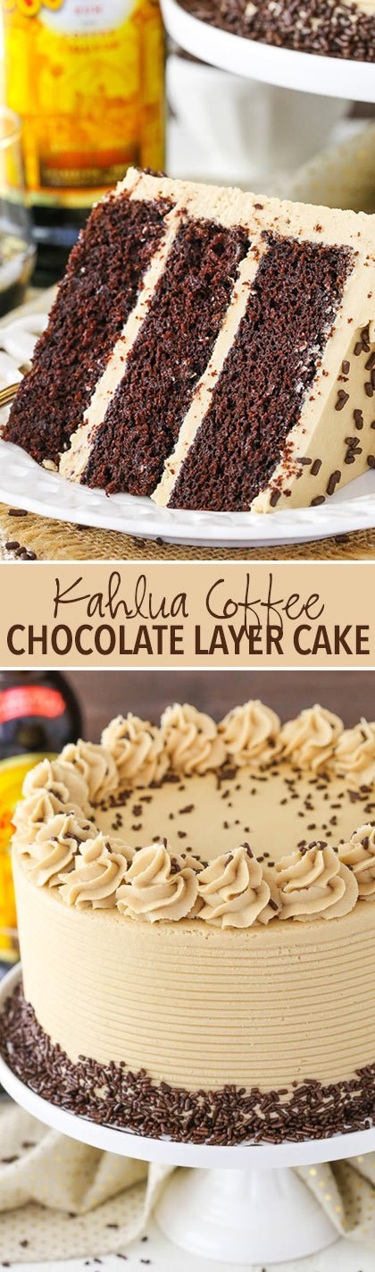 Chocolate Kahlua Coffee Bundt Cake