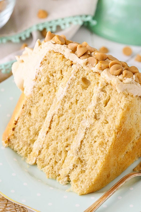 Loaded Peanut Butter Layer Cake recipe