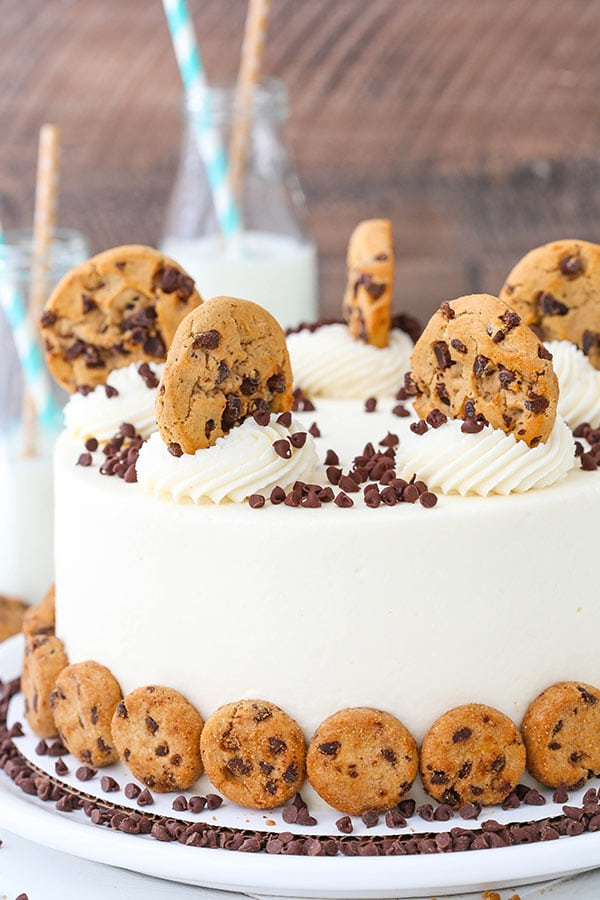 How To Put Chocolate Chips In A Cake