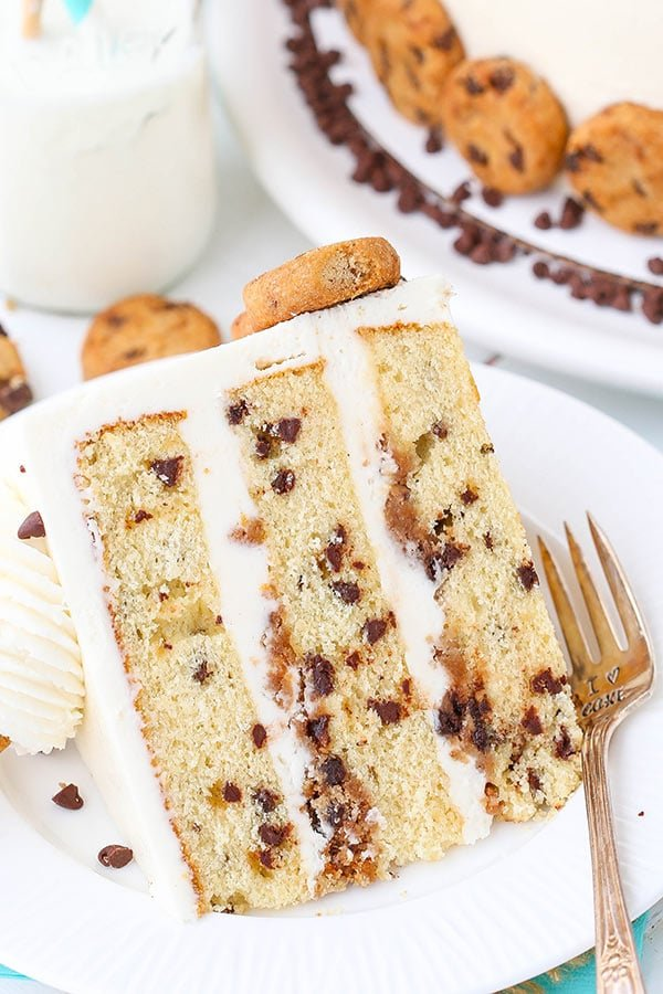 Milk and Cookies Layer Cake recipe