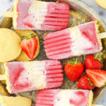 Strawberry Shortcake Popsicles