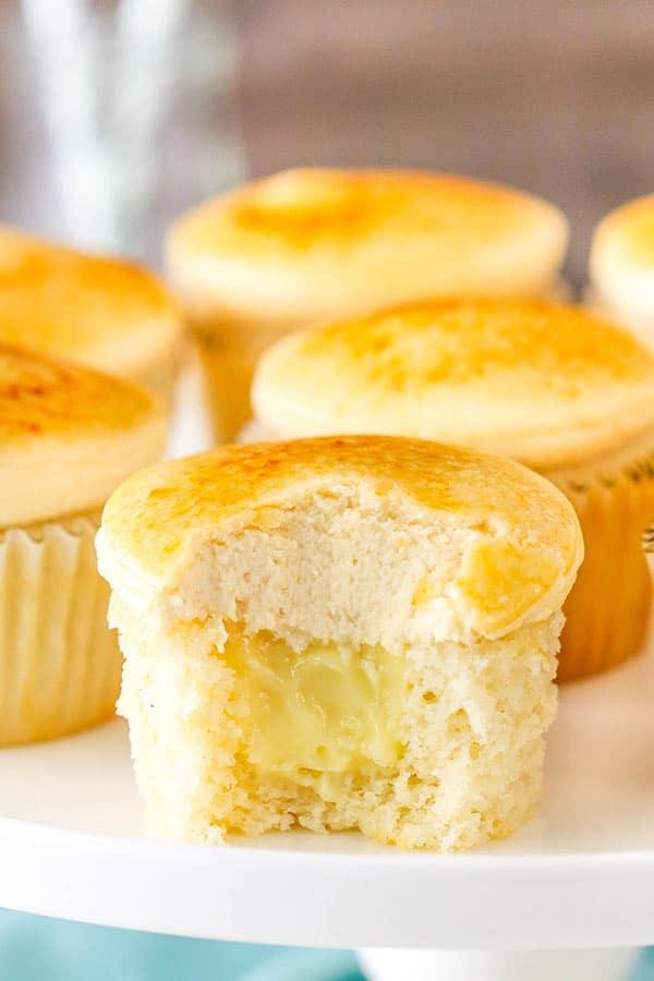 Creme Brûlée Cupcakes recipe