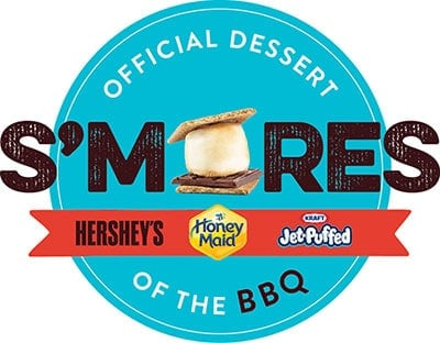 S'mores Skillet Brownies Title Image