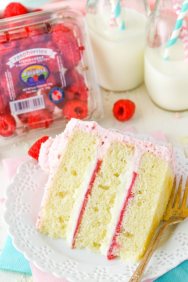 Best White Chocolate Raspberry Mousse Cake