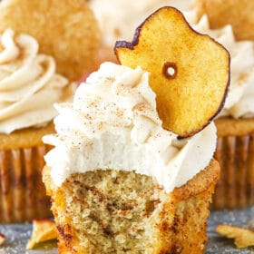 Picture of Apple Snickerdoodle Cupcakes
