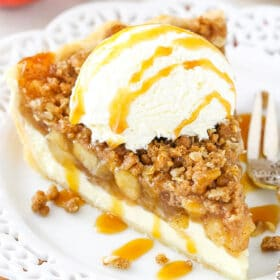 Image of Apple Crumb Cheesecake Pie