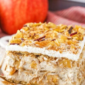 Image of a Cinnamon Apple Icebox Cake