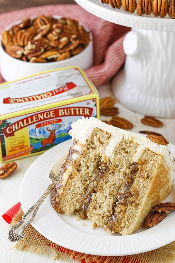 Best Pecan Pie Layer Cake