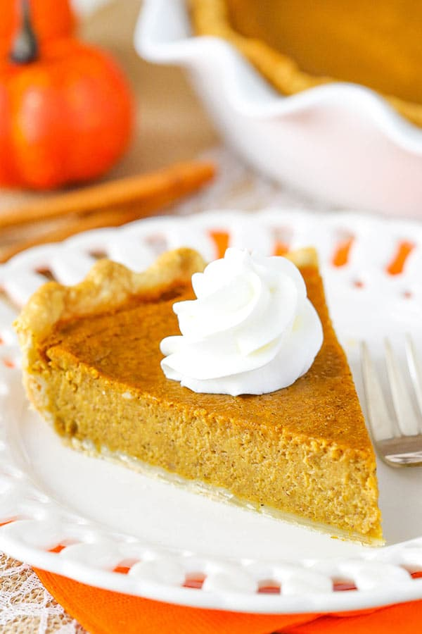 Classic Pumpkin Pie - Life Love and Sugar