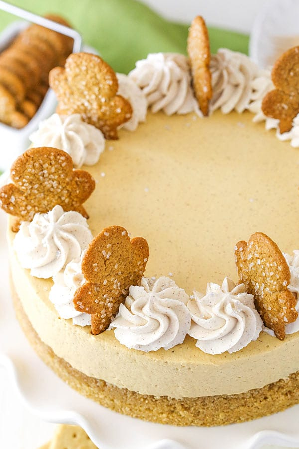 Easy Gingerbread Cheesecake Recipe
