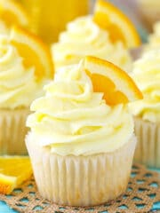 Mimosa Cupcakes image