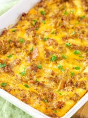 full image of Overnight Sausage and Egg Breakfast Casserole