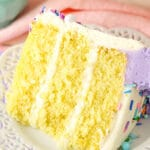 Moist Vanilla Layer Cake Recipe