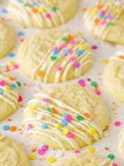 close up image of Coconut Sugar Cookies