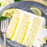 Lemon Mascarpone Layer Cake