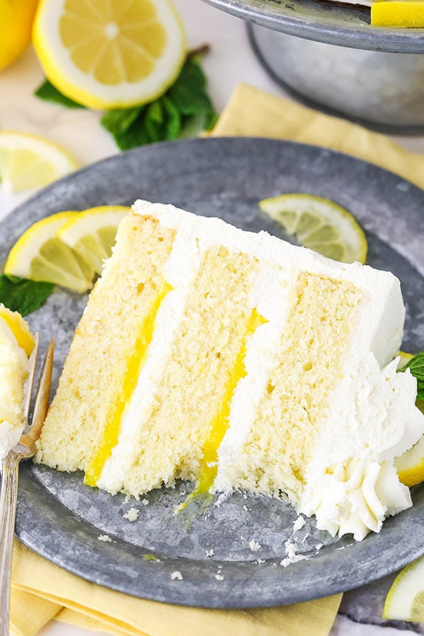 Swell Lemon Mascarpone Layer Cake Must Try Lemon Cake Recipe Funny Birthday Cards Online Inifodamsfinfo