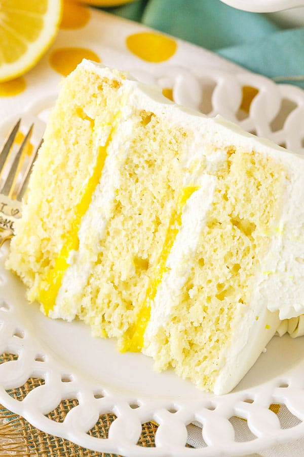 Lemon Mascarpone Layer Cake | MUST TRY Lemon Cake Recipe!