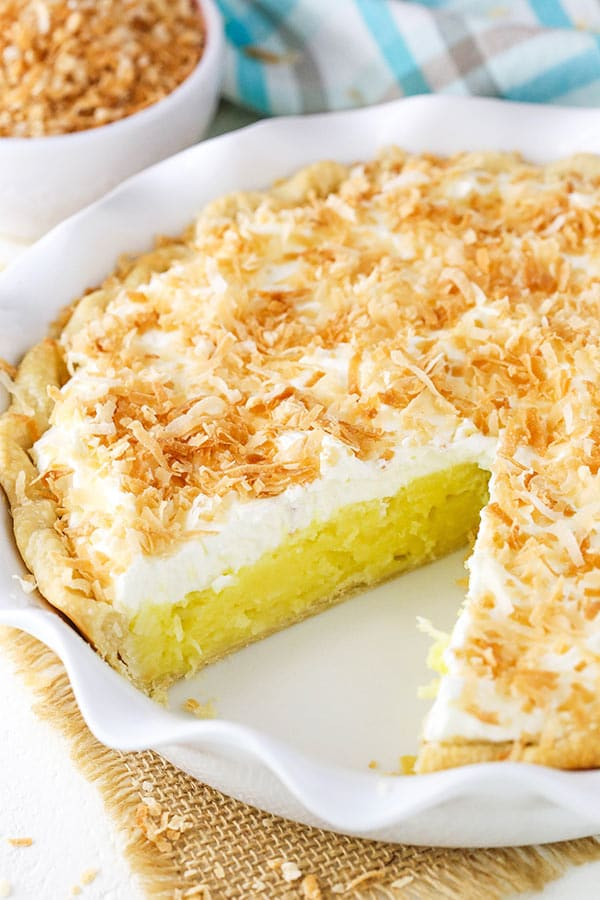 Classic Coconut Cream Pie!