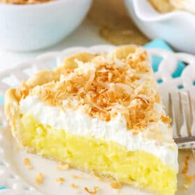 image of Classic Coconut Cream Pie slice