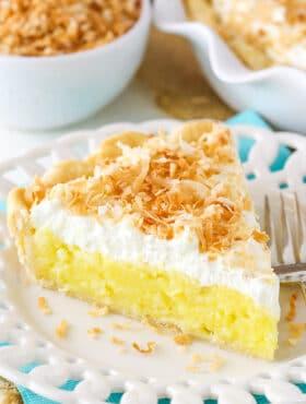 image of Classic Coconut Cream Pie slice