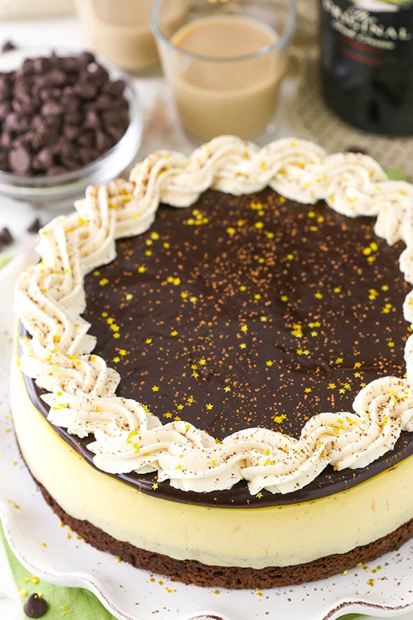 Favorite Baileys Brownie Cheesecake recipe
