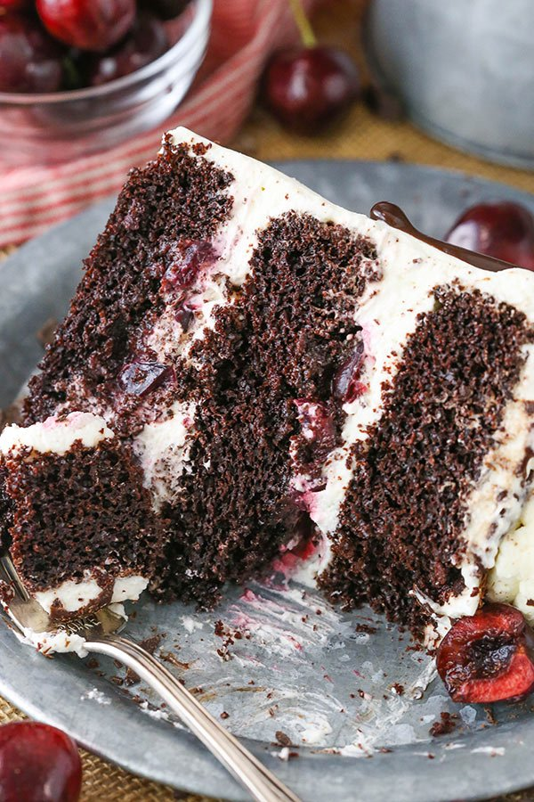Easy Moist Black Forest Cake Recipe