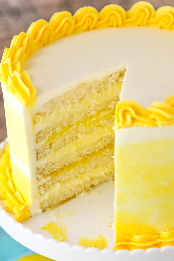Lemon Cake Recipe Video