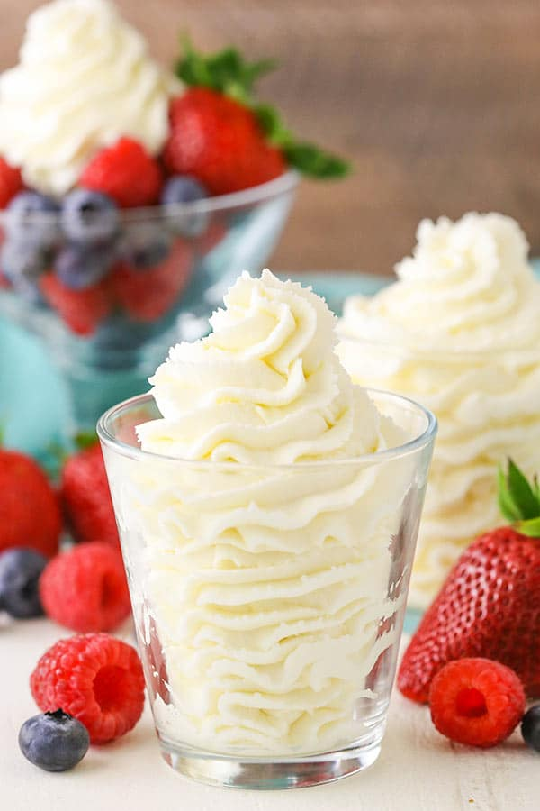 Stabilized Mascarpone Whipped Cream - Homemade Whipped ...