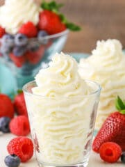 Stabilized Mascarpone Whipped Cream image