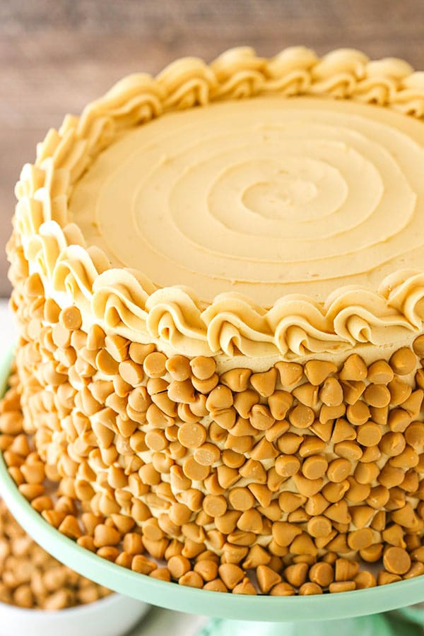 Whole Butterscotch Cake