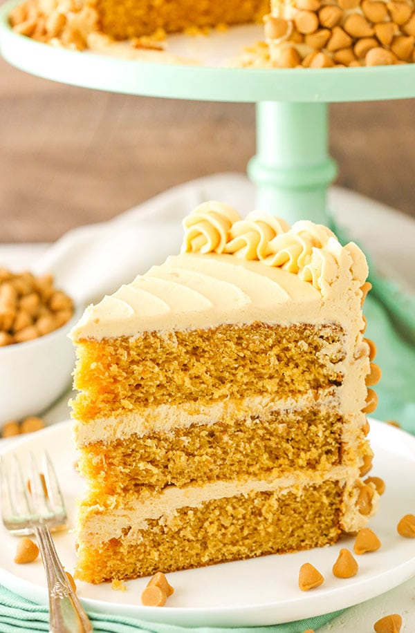 Butterscotch Cake slice