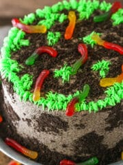 Dirt Cake | AMAZING Chocolate Cake Recipe Perfect for Halloween!