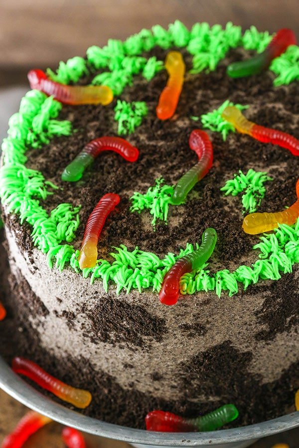 Pleasant Dirt Cake Amazing Chocolate Cake Recipe Perfect For Halloween Funny Birthday Cards Online Inifofree Goldxyz