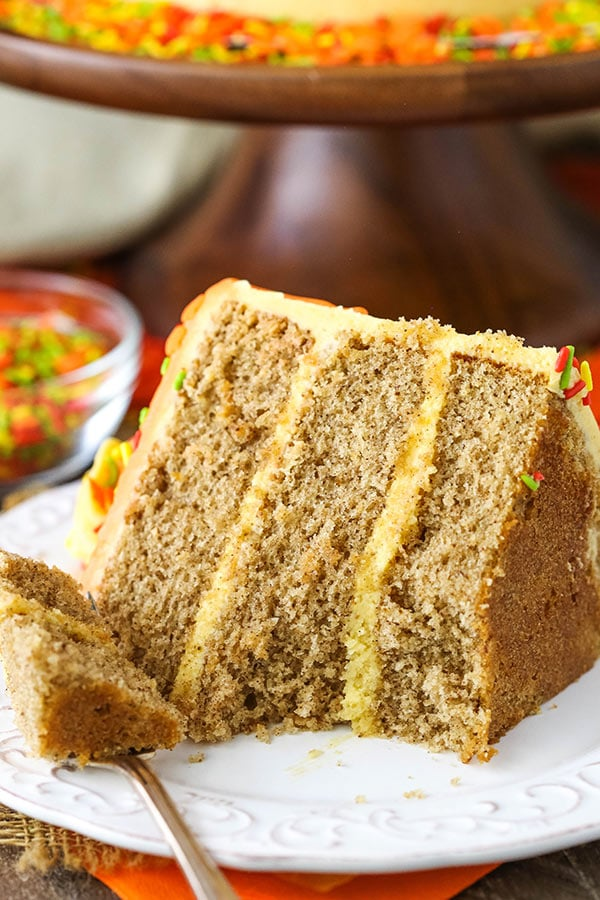 Favorite Spice Cake with Pumpkin Mascarpone Buttercream recipe