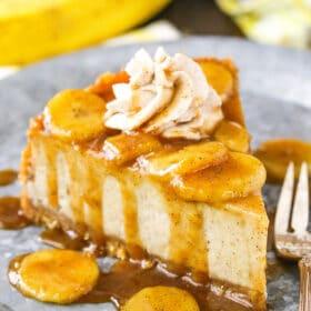 Bananas Foster Cheesecake Recipe | AMAZING Cheesecake Recipe