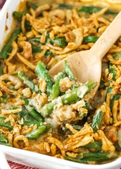image of Classic Green Bean Casserole in dish