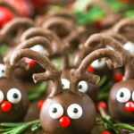 image of Easy Reindeer Cookie Balls