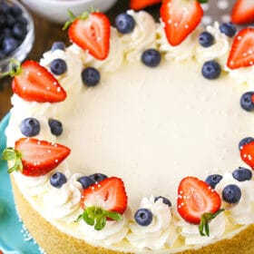 The Best No-Bake Cheesecake Recipe | Life Love and Sugar