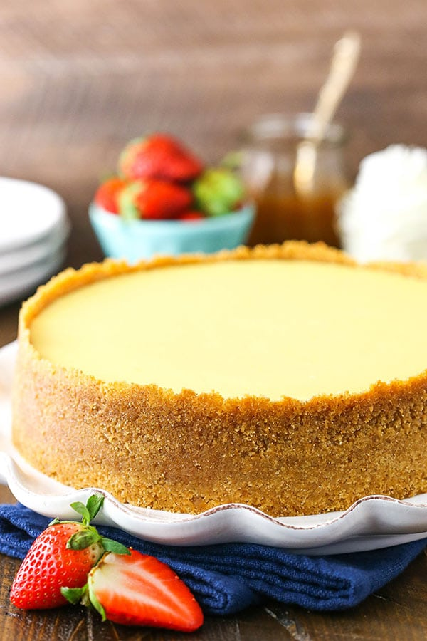 This Classic Cheesecake recipe is smooth, creamy and easy to make! Follow these tips and you'll have the best no-fail cheesecake recipe!