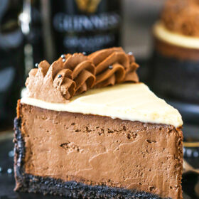 Guinness Chocolate Cheesecake Recipe | Amazing Chocolate Dessert!